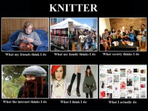 tricot knitter meme
