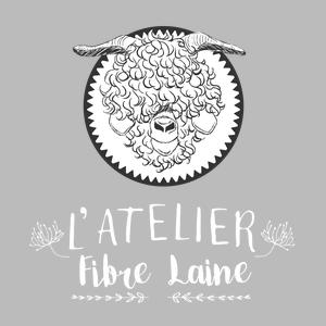 logo atelier fibre laine mohair