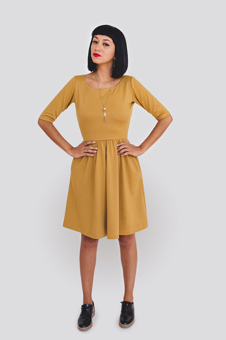 Robe Moneta Colette Patterns