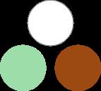 association palette wardrobe architect blanc mint camel