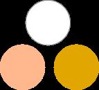 association palette capsule wardrobe architect blanc rose moutarde